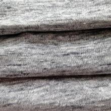 Tejido de lino tejido gris brezo (QF14-1546-736)