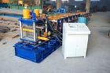 Strip Steel C Purlin Roll Forming Machine with Punching Hol