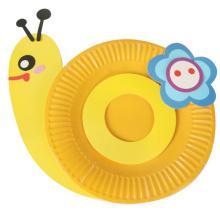Artisanat bricolage enfants faire votre propre assiette en carton