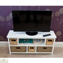 Seagrass Basket Cheap Living Room Wooden TV Cabinet Designs