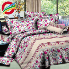 printed 100% cotton fabric modern bed for sheet sets
