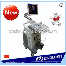 2D trolley color doppler & trolley color scanner with 3D software