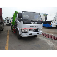 Dongfeng 4cbm kitchen garbage truck
