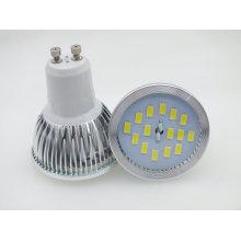 Nouveau projecteur LED Aluminium GU10 6W 5730 SMD