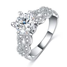 1.5 anéis de noivado do casamento da zircônia do quilate (CRI0502-B)
