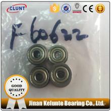 Acero de cromo y plástico de una hilera de cojinete de bolas de ranura profunda 6220 zz 2rs es de alto rendimiento