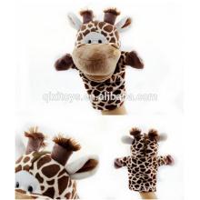 Brinquedos quentes dos fantoches de mão do animal do luxuoso da venda para crianças