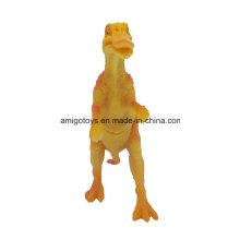 El dinosaurio del PVC del vinilo de encargo calcula el juguete