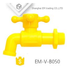 EM-V-B050 Farbiger Kunststoff-Hahnhahn