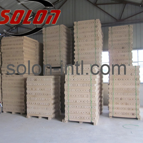 Hydraulic wood log block making machinery
