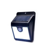 солнечный водонепроницаемый сад открытый светодиодный датчик движения лампы