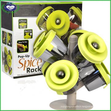 6 pièces Popup Spice Rack