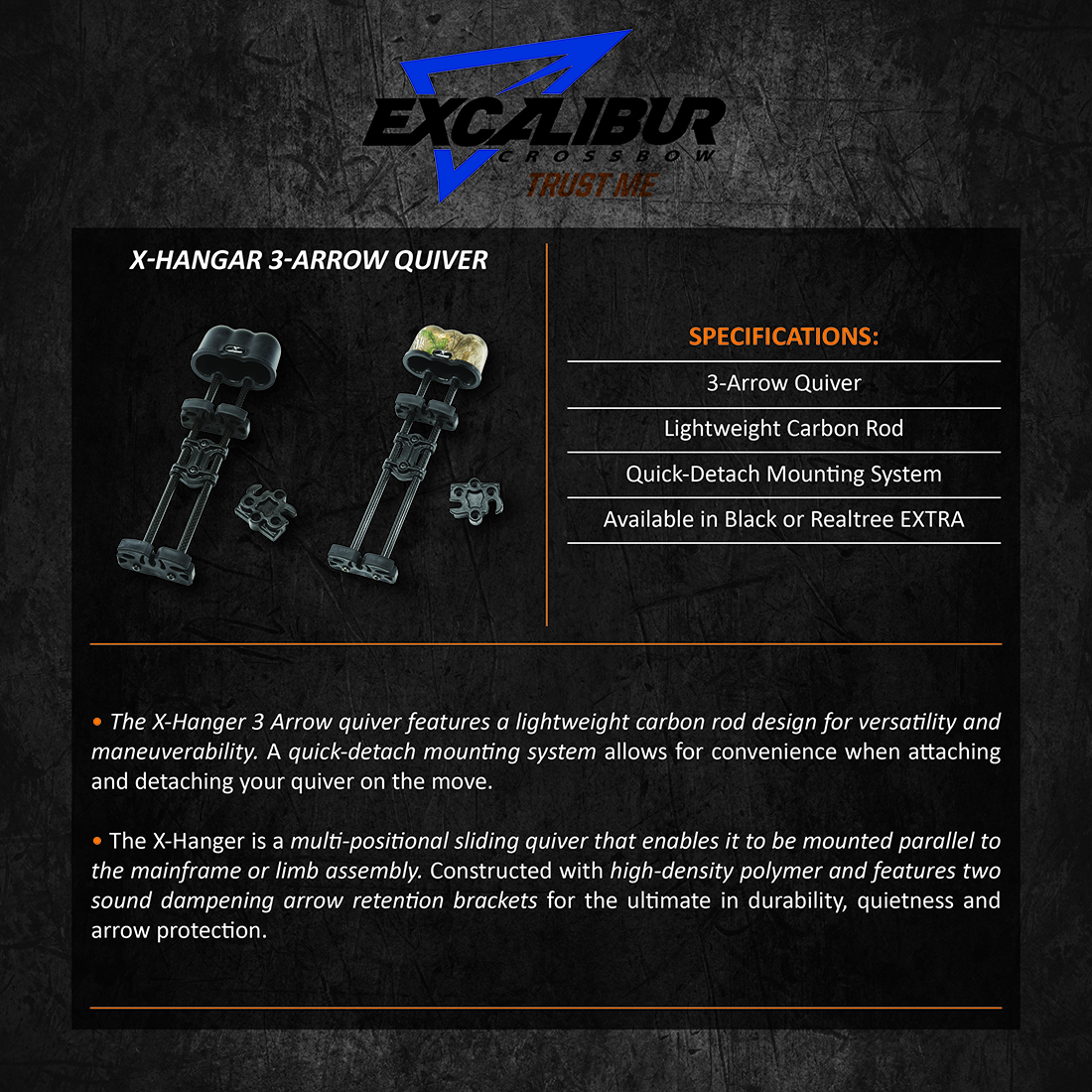 Excalibur_XHangar_3Arrow_Quiver_Product_Description