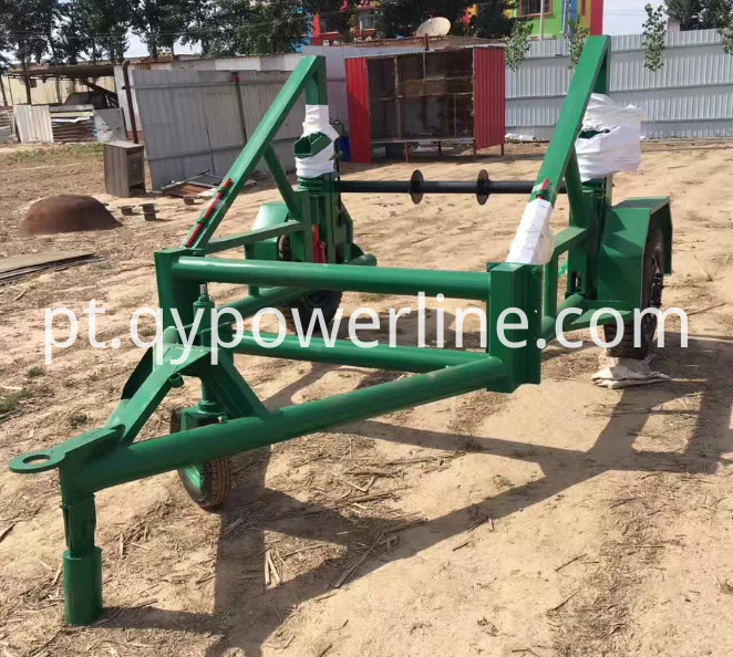 Multifunction cable laying trailers