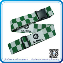 Custom Sublimation Printed Luggage Belt for Travel Gift