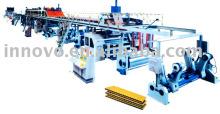 5 draads gegolfd karton productielijn