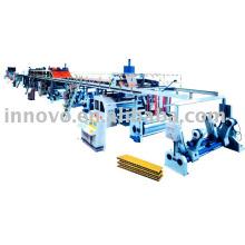 5 dobras linha de produção de papelão ondulado