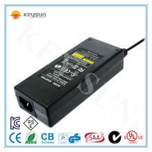 Adaptador de alta qualidade 100-240v 50-60hz ac 12v 8 Amp Adaptador de alimentação de 12 volts com 3 Prong Plug com tomada de saída de 5 Mm Dc