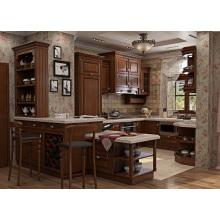 Nordamerika Moderne Klassische Massivholz Küche Kabinett