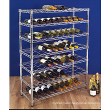 Floor Model Metal Red Wine Storage Rack for Cellar NSF Approval (WR9035180A7C)