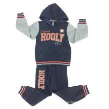 Le plus récent Mode Imprimé Garçon Piste Costume de Formation de Costume avec une Bonne Qualité dans les Vêtements des Enfants Swb-111