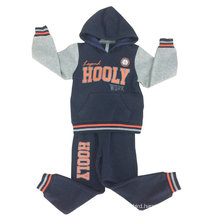 Newest Fashion Printed Boy Track Suit Training Suit with Good Quality in Children Clothes Swb-111