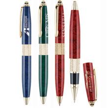 cap-off rollerball & ballpoint pen