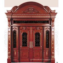 Italia puerta de acero blindada puerta dormitorio proveedor China (D4006)