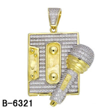 Latest Design 925 Sterling Silver Pendant Jewelry with Diamond