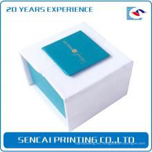 Caja de papel de embalaje plegable de joyería de lujo SenCai