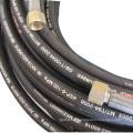 SAE100 R1AT R2AT EN853 1SN / 2SN EN856 4SH / 4SP Gummi- Hydraulikschlauch