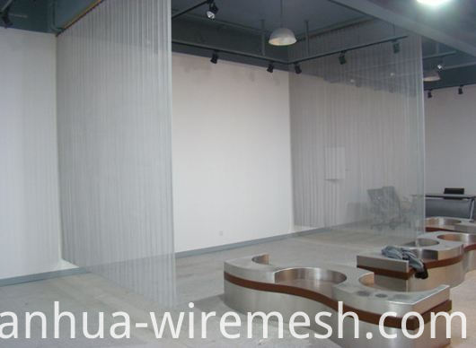 Popular flexible metal mesh curtain