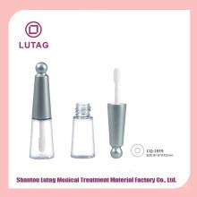 Tubo mini vacío plástico botella de brillo de labios