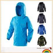 Boys hooded rain jacket