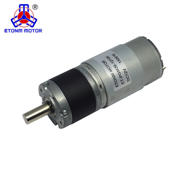 Motor de engrenagem dc ETONM 24v 170 rpm