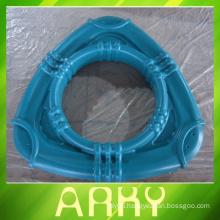 Triangular Circle OEM Aluminium Rotational Molding