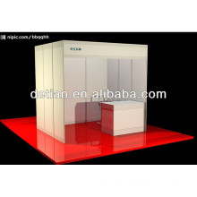 Good quality shell scheme exhibition booth from China