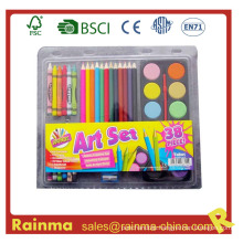School Stationery for Color Painting Set