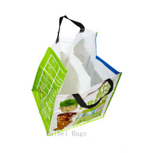 70 Litre Woven PP Recycling Bag with Internal Divider (hbwo-47)