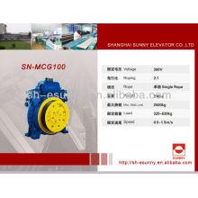 Heben Sie Traktion Maschine Aufzug Maschine Teile Aufzug Traktion SN-MCG100