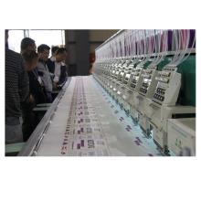 9 Nadeln 20 Köpfe High-Speed-Stickmaschinen mit 8-Zoll-Computer