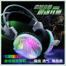 USB 3,5 mm Stirnband Stereo Gaming Headset mit Mikrofon (K-15)