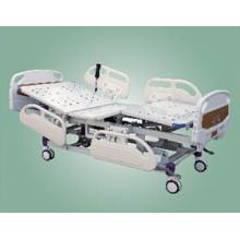 Lit d'hôpital électrique à cinq fonctions avec tête de lit ABS
