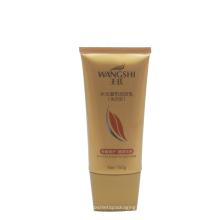 tubo de plástico para embalagens de creme de cosméticos para extensões de cabelo