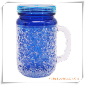 Double Wall Frosty Mug Frozen Ice Beer Mug for Promotional Gifts (HA09072-1)