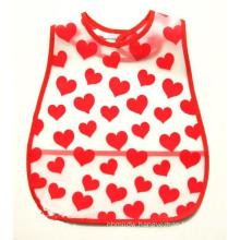Easily Carry Size Adjustable EVA Baby Bib