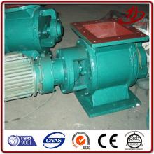 Válvula rotativa para alimentador de polvo para colector de polvo de filtro de pulso