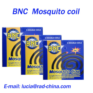 BNC 140mm Sandalwood Micro-Smoke Black Mosquito Coil