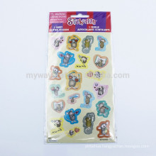 Self Adhesive Animal Glitter Sticker In Sheet