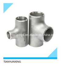 B16.9 Seamless Stainless Steel Pipe Fittings Tee